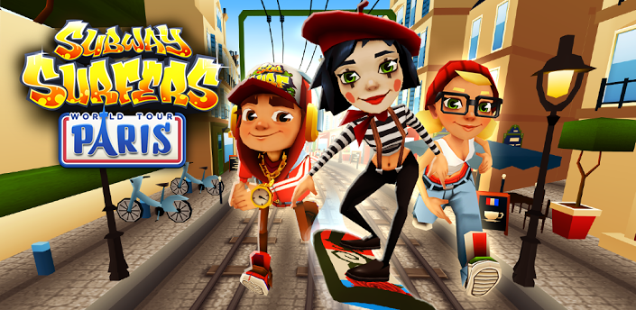 Скачать Subway Surfers Paris (Париж)