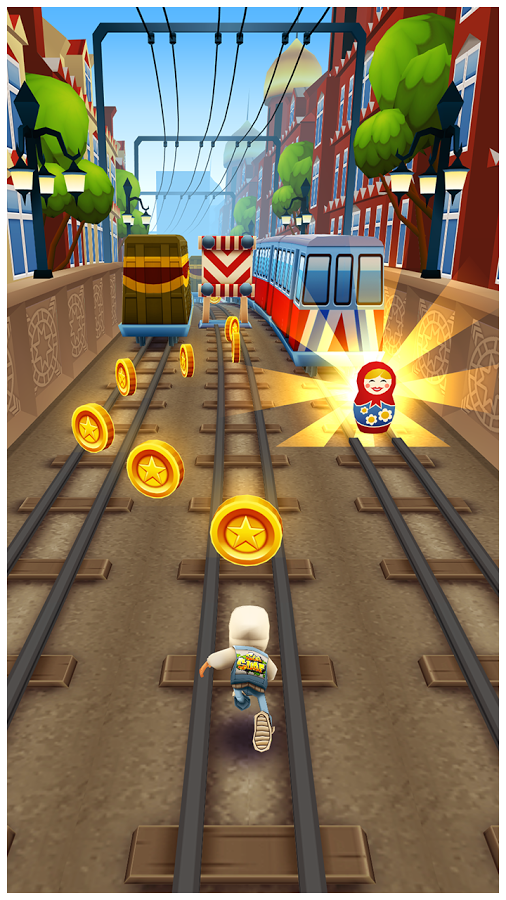 Скачать Subway Surfers Moscow ПК на компьютер